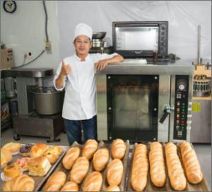 Học Làm Bánh Mì Thầy Quân